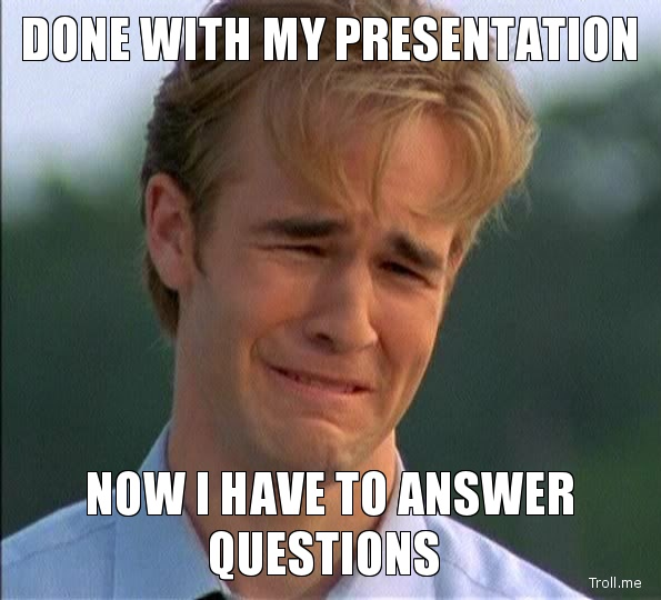 7 ways to not answer a question when you are Presenting ...